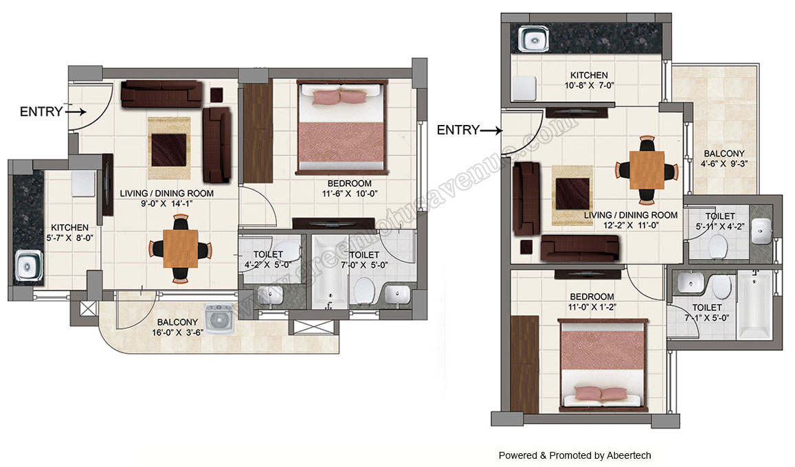 1 bhk flats in zirakpur