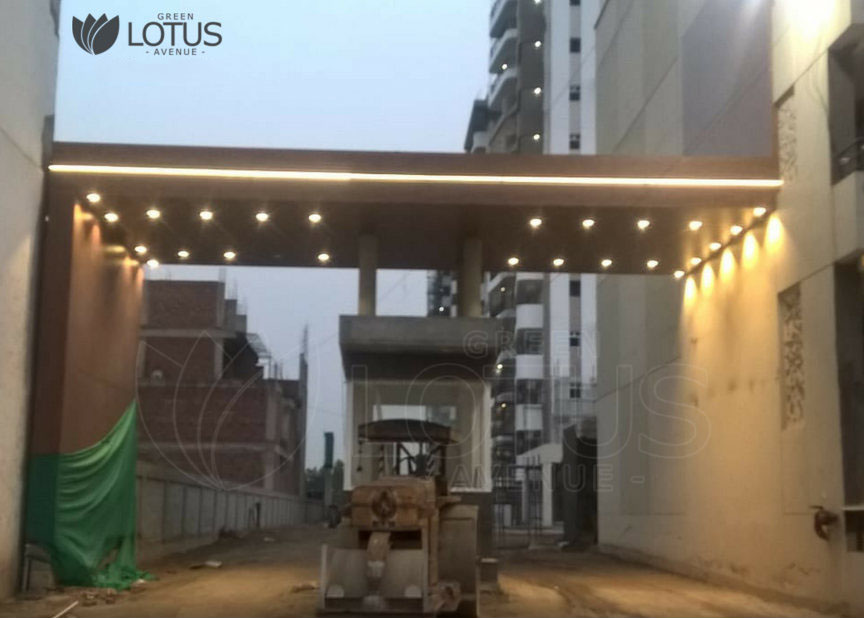 GREEN LOTUS AVENUE CONSTRUCTION APRIL 18