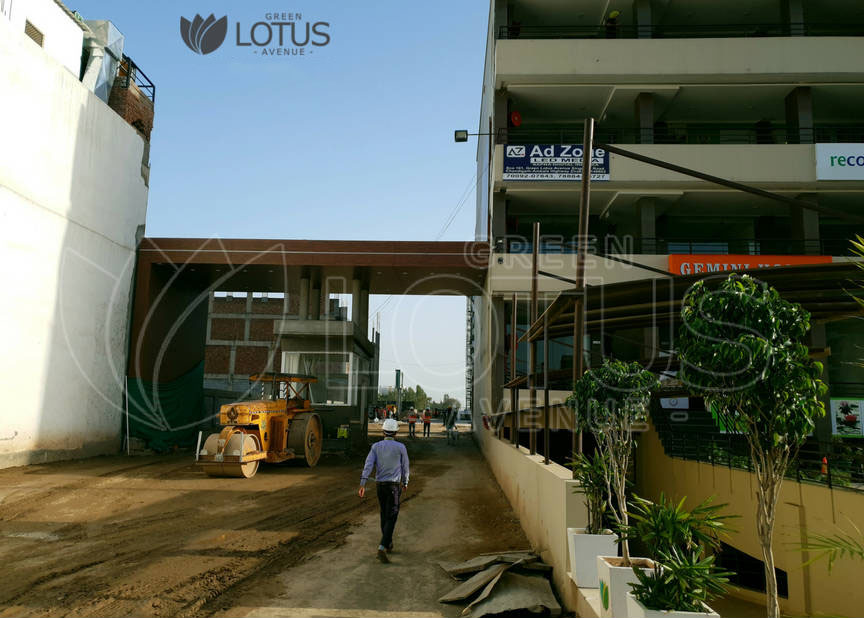 GREEN LOTUS AVENUE CONSTRUCTION APRIL 2018