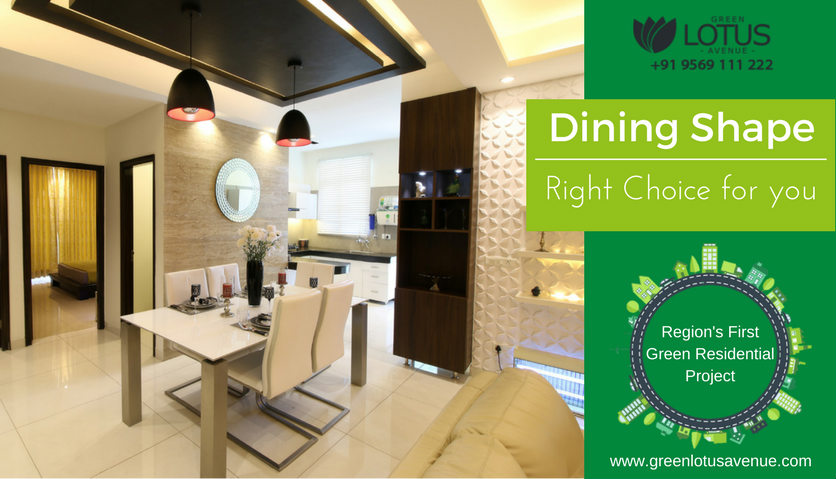 Which Dining Shape is the Right Choice for you?