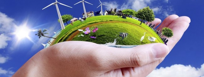 Building a Sustainable Community for Efficient Use of Natural Resources