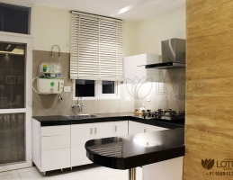 greenlotusavenue flat in zirakpur kitchen